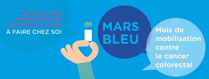 Mars Bleu : dépistez-vous !