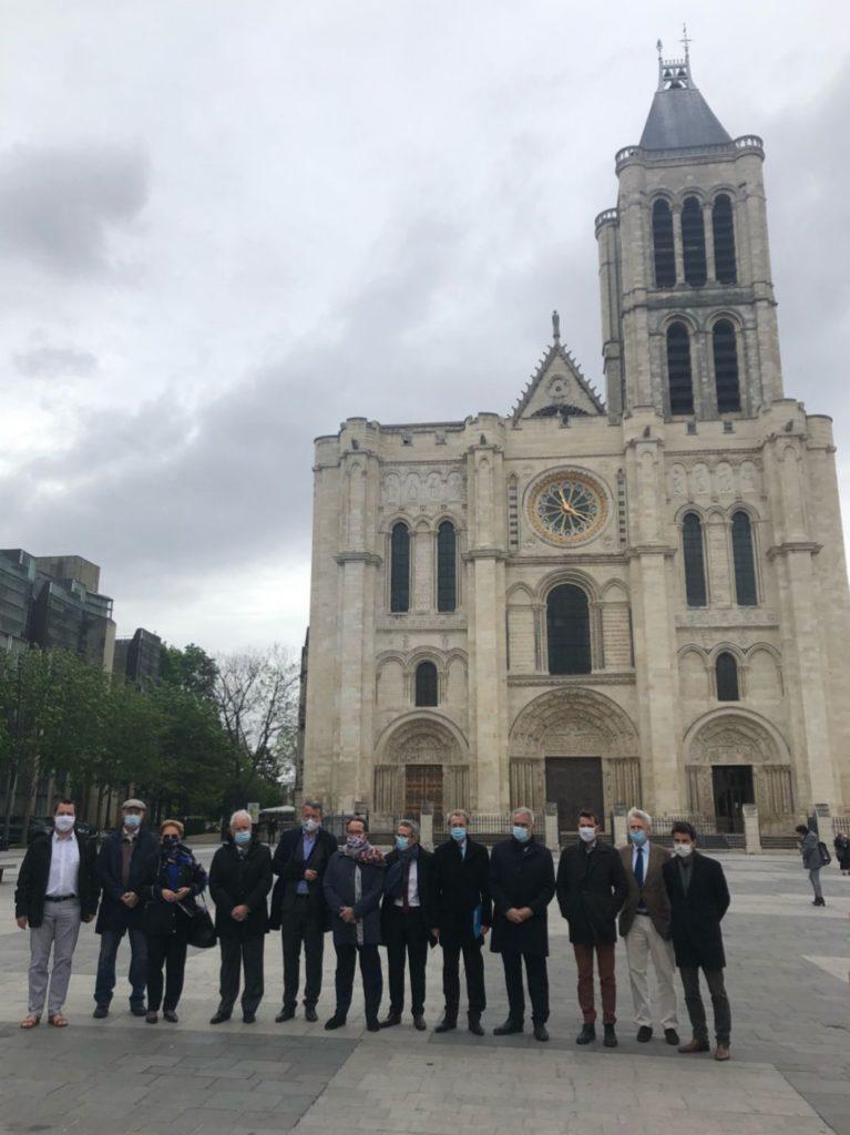 Le FS2I s'engage dans la reconstruction de la flèche de la Basilique Saint-Denis