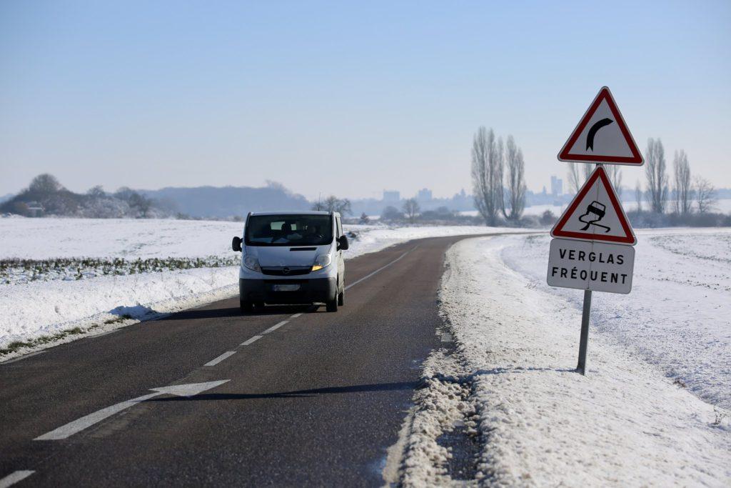 Alerte neige et verglas dans les Yvelines © CD78/N.DUPREY