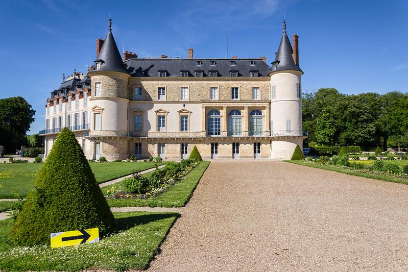 Le château de Rambouillet sur la route du Tour de France en 2019 © CD78/MC.RIGATO