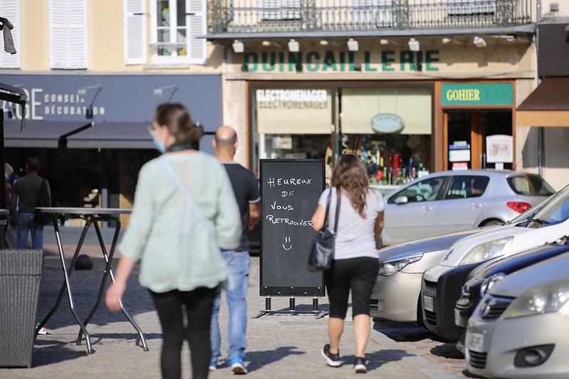 Les commerçants Yvelinois préparent leur réouverture © CD78.N.DUPREY