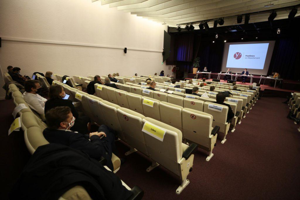 Assemblée départementale au Campus des Mureaux