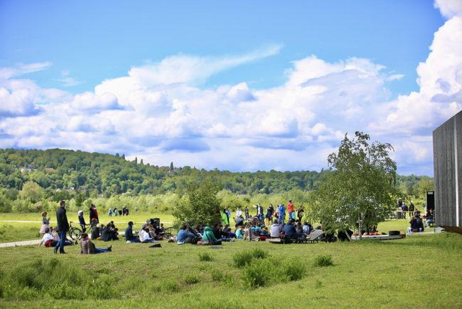 Le Parc du Peuple de l'Herbe sacré aux Victoires du Paysage / CD78-N.DUPREY