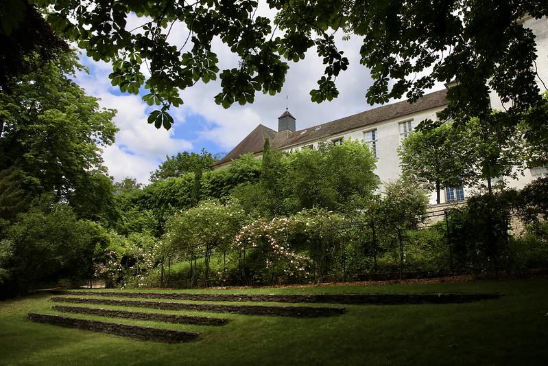 Le jardin du Musée Maurice Denis fait peau neuve. © CD78/N.DUPREY