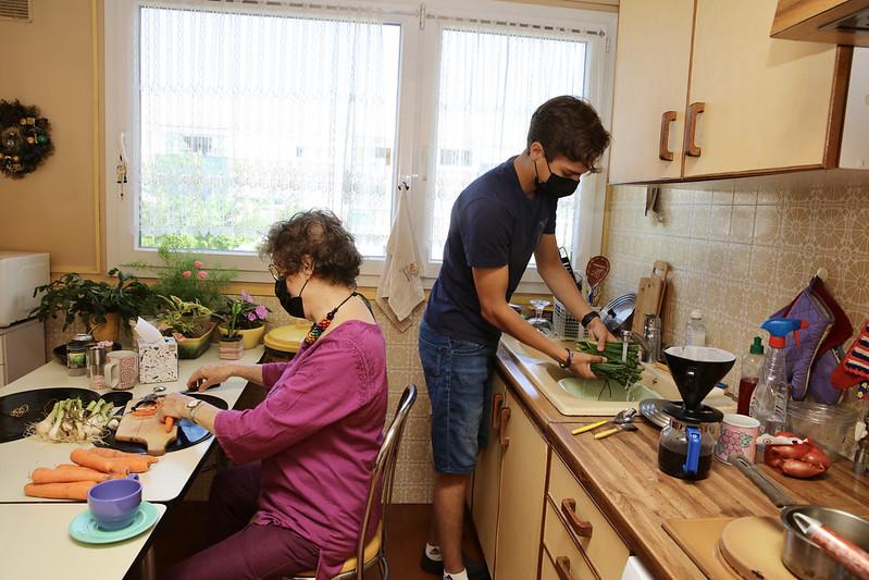 La cohabitation étudiant/seniorse développe dans les Yvelines. ©CD78/N.DUPREY