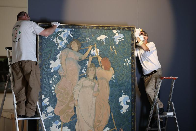 Dans l'émotion, le Musée Maurice Denis rouvre ses portes ©CD78/N.DUPREY