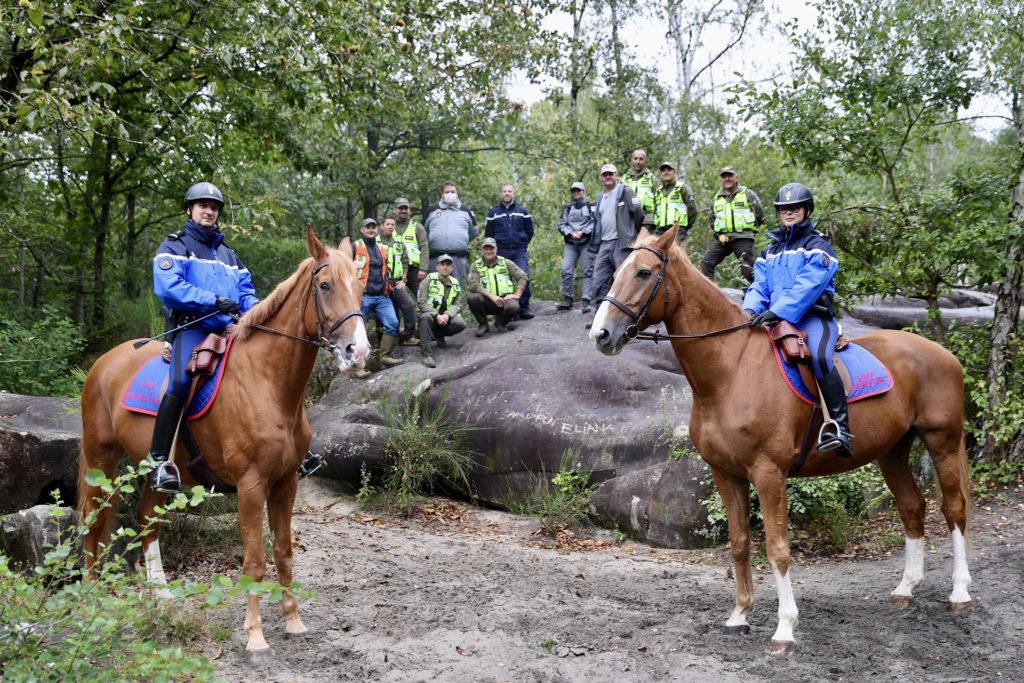 Patrouilles de protection des forêts des Yvelines