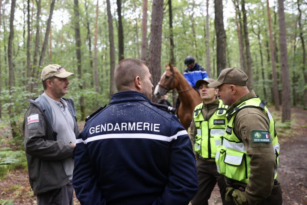 Patrouilles foret Yvelines