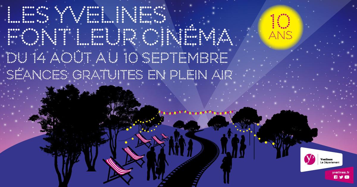 10 ans de cinéma dans les Yvelines