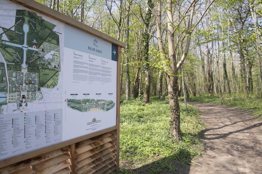 Le ru de Gally s'offre une promenade intelligente / Château de Versailles