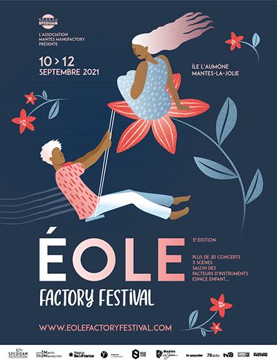 Eole Factory Festival revient en septembre 2021