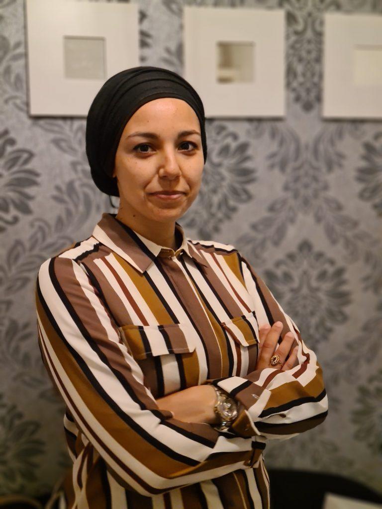 Liya S. du Maroc aux Yvelines © Aïcha Souldi