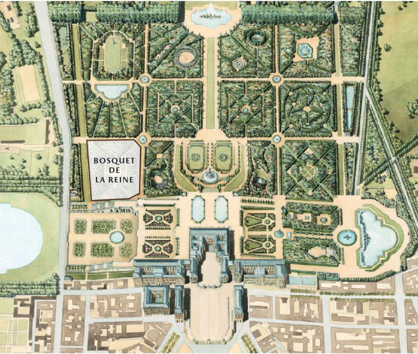La renaissance du bosquet de la Reine © T.Garnier Château de Versailles