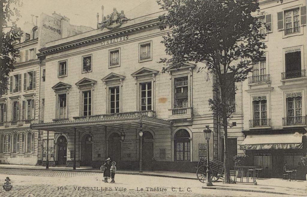 Dans les souvenirs du théâtre Montansier © Archives départementales des Yvelines