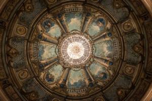 Dans les souvenirs du théâtre Montansier © Pierrick Daul / Ville de Versailles.