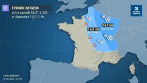 Alerte neige et verglas dans les Yvelines