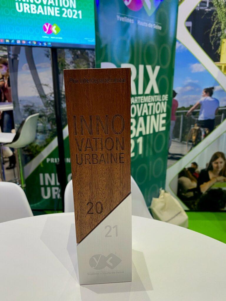 Remise des trophées du prix interdépartemental de l'innovation urbaine 2021 © CD78