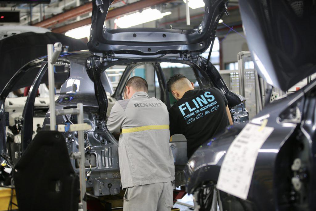Le site de Renault Flins est concerné par les travaux sur l'hydrogène. © CD 78 / N.Duprey
