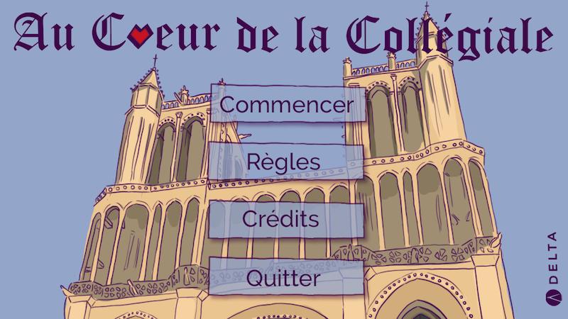 Un jeu vidéo consacré à la collégiale de Mantes-la-Jolie / Bréan Boitel