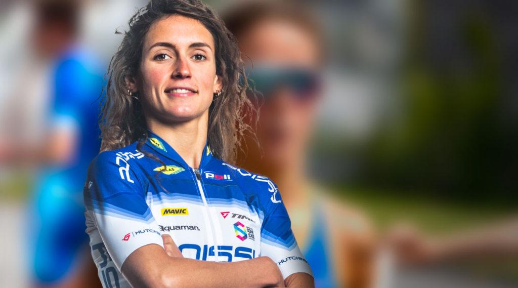 Elle représentera les couleurs du club avec Cassandre Beaugrand et Dorian Coninx chez les hommes. © Poissy Triathlon