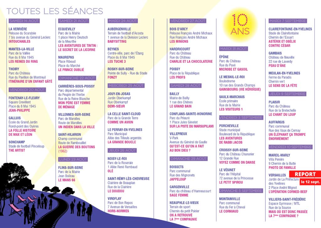 Programme Yvelines cinéma