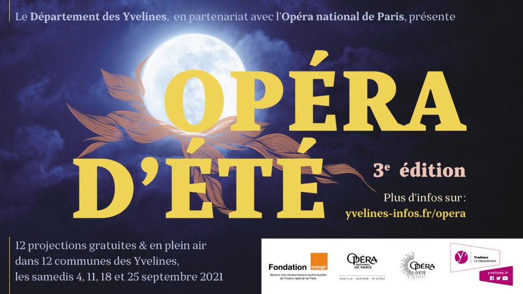 Les Opéra d'été reviennent pour une 3e édition dans les Yvelines