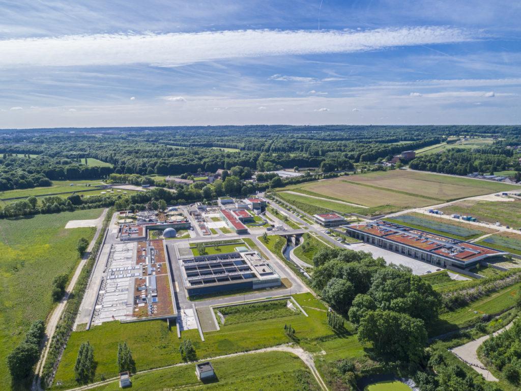 Les eaux usées de 430 000 habitants sont traités à la station d'épuration de Saint-Cyr-l'Ecole. (Photo Hydreaulys)