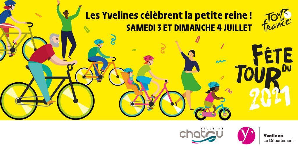 Chatou se prépare à accueillir le Tour de France