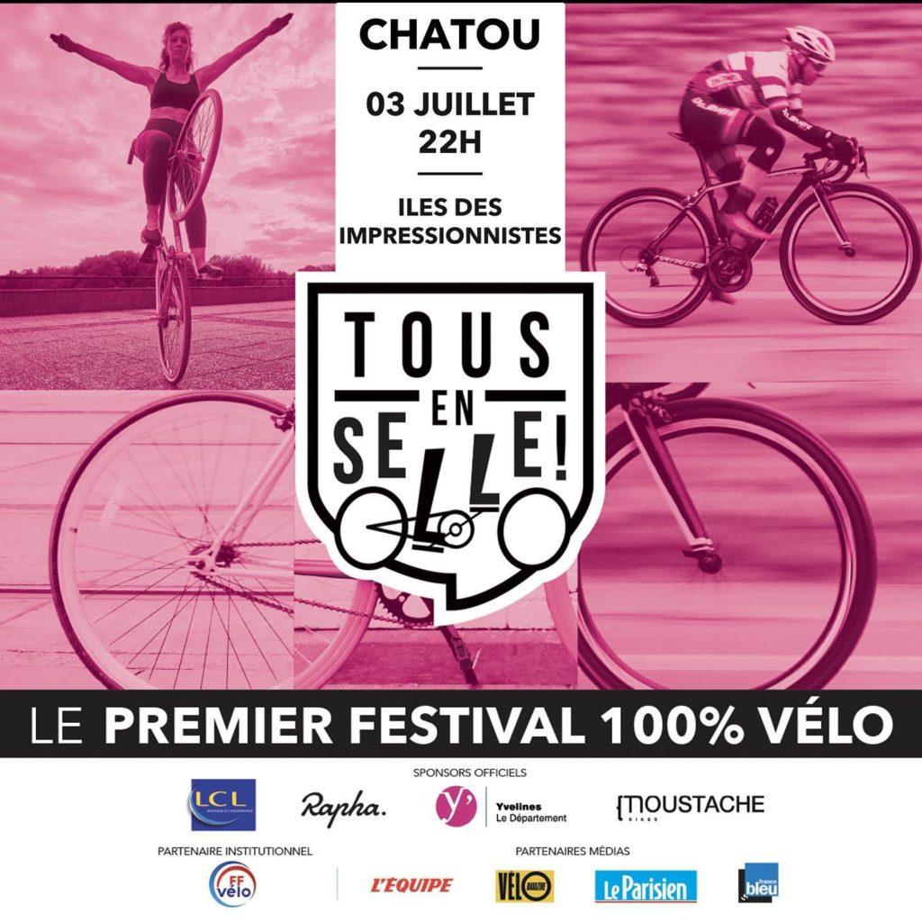 """Jacques Benloulou organise le festival """"TOUS EN SELLE!"""" ©ABonfils"""