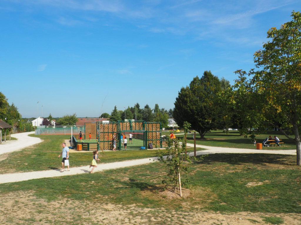 Le parc Yvon Le Coz, inauguré lors de la précédente mandature, a accéléré les actions associatives. © CD 78/ C.Bringuier.